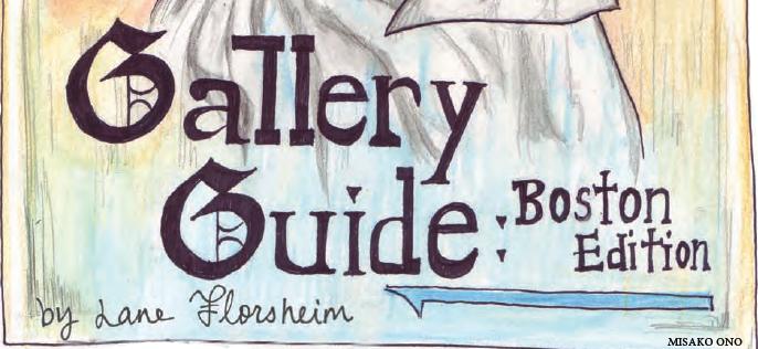 Gallery Guide: Boston Edition