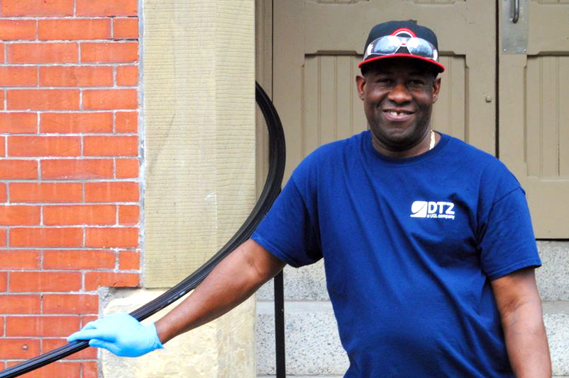 A Day In The Life: Vilorio, a Tufts Janitor
