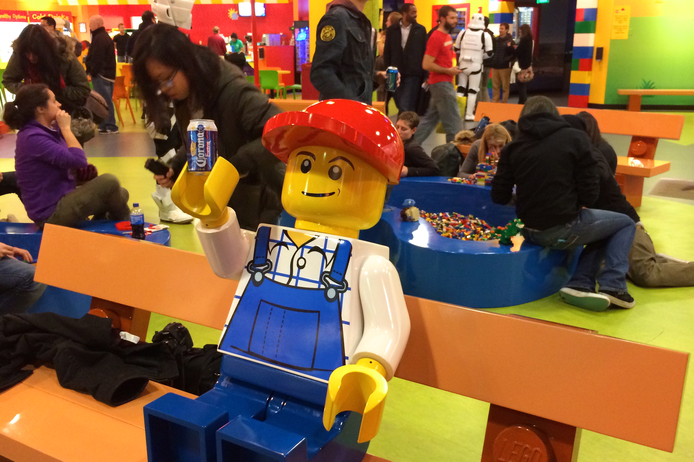 Child's Play: Adult Night at LEGOLAND Discovery Center