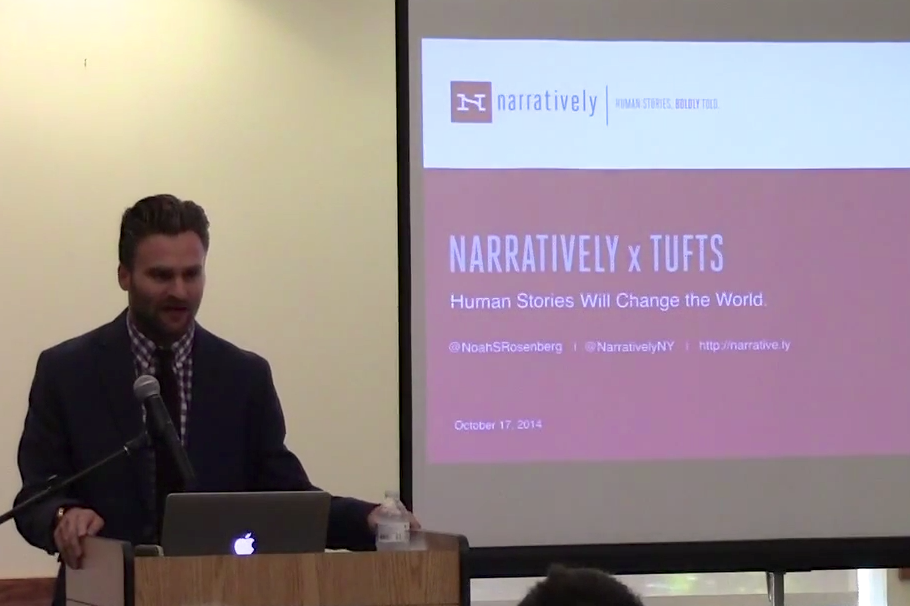 Tufts Podcast Network: A Storyteller's Tale