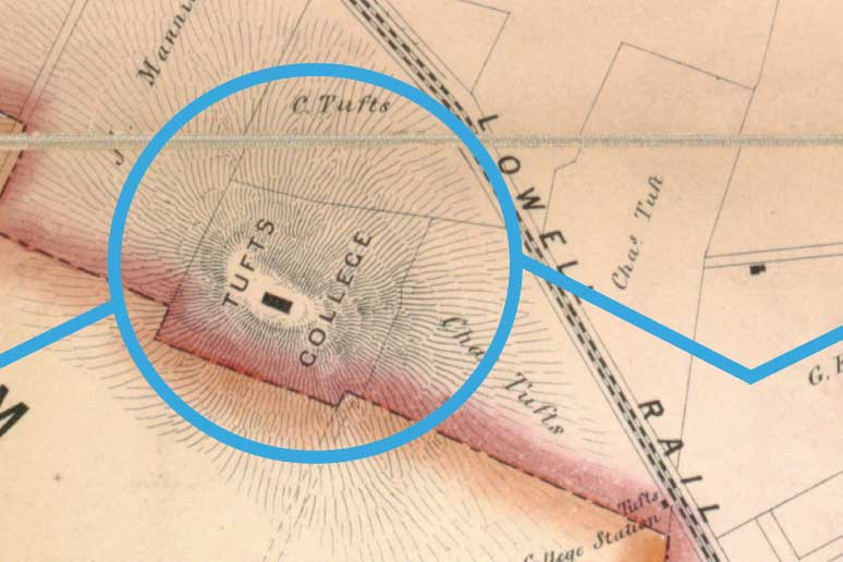 Mapping Out Histories: Leventhal Map Center Follows Boston's Changing Footprint