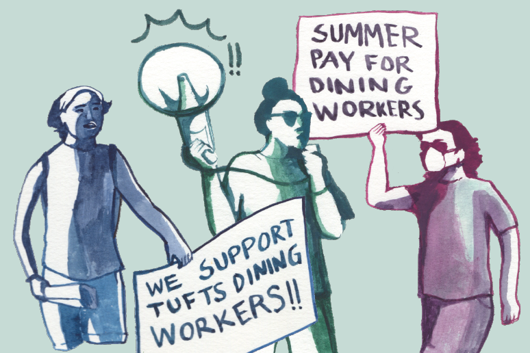 The Plea for Pay: Dining Workers Fight for Summer Wages